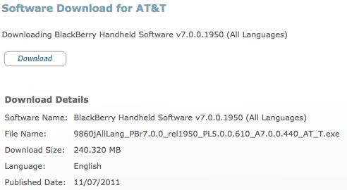 AT&T OS 7.0.0.440