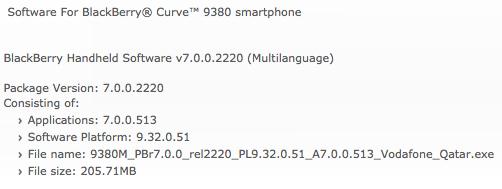 OS 7.0.0.513 Curve 9380