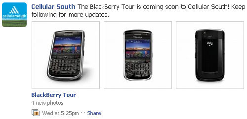 Cellular South BlackBerry Tour