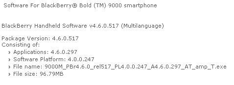 Bold 4.6.0.297