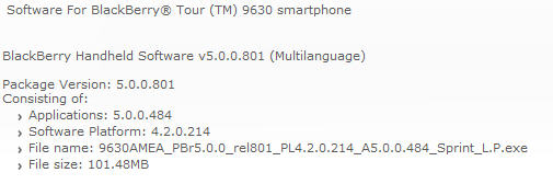 Sprint OS 5.0.0.484