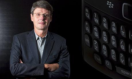 Thorsten Heins RIM President and CEO