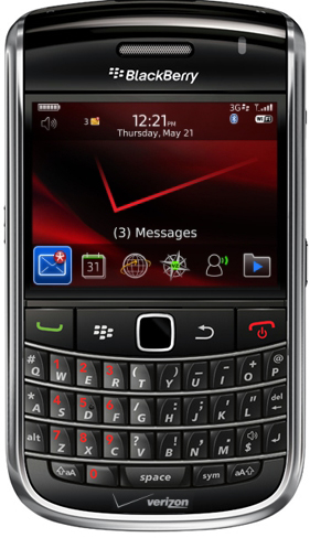 Verizon BlackBerry Bold 9650