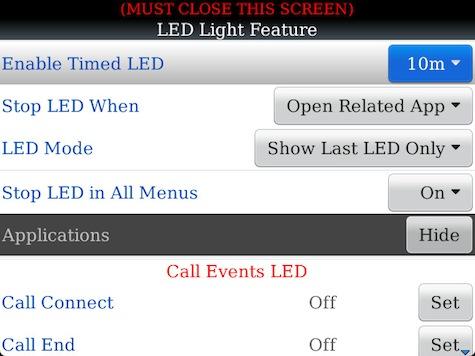 Advance OS and LED
