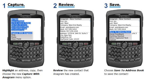 Anagram For BlackBerry!