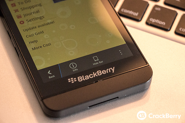 Android app BlackBerry
