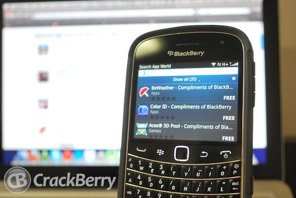 Compliments of BlackBerry