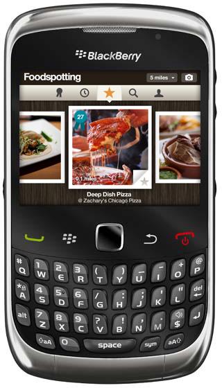Foodspotting BlackBerry