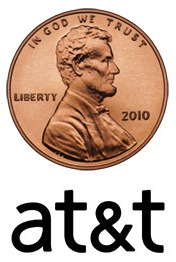 AT&T Penny BlackBerry