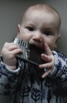 Baby BlackBerry