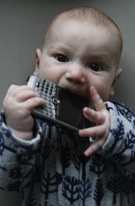 Baby BlackBerry