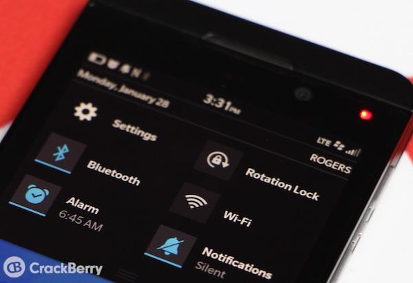 BlackBerry 10 LED