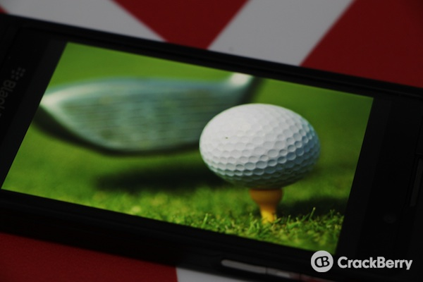 PGA Tour BlackBerry 10