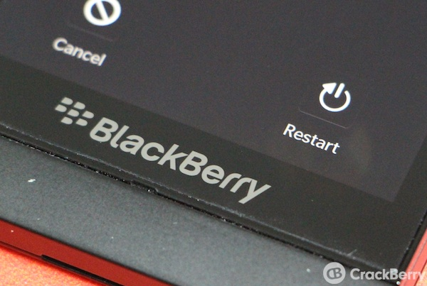 BlackBerry 10 Restart