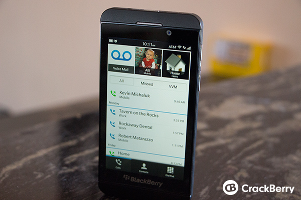 BlackBerry 10 Speed Dial