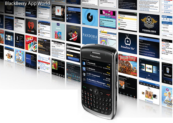 Getting Apps on your BlackBerry