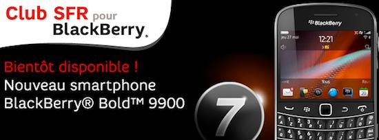BlackBerry Bold 9900 SFR