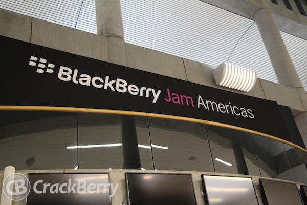BlackBerry Jam Welcome
