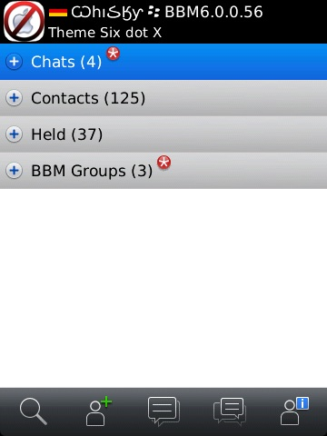 BlackBerry Messenger 6.0