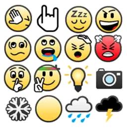 BBM 7 Emoticons