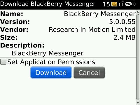 BBM 5.0.0.55