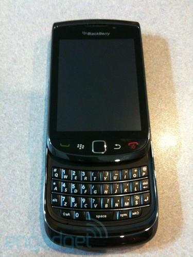 AT&T BlackBerry Slider 9800