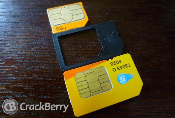 BlackBerry Micro SIM