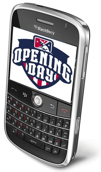 CrackBerry Baseball Opening Day