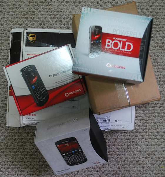 BlackBerry Packages