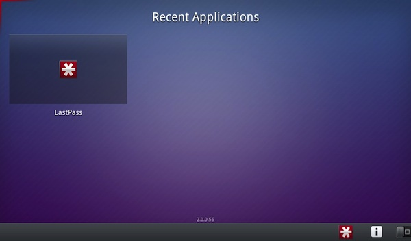 BlackBerry PlayBook 2.0 Android App Player