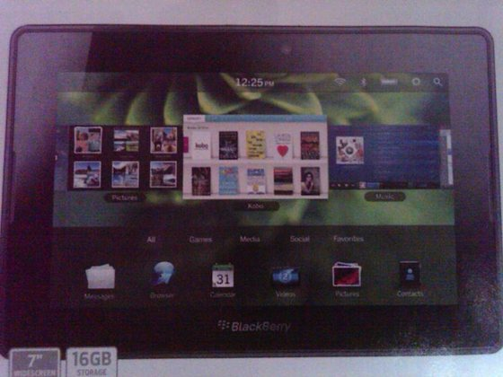 BlackBerry PlayBook 2.0 Best Buy Ad