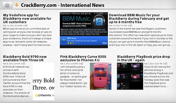 BlackBerry PlayBook 2.0 News