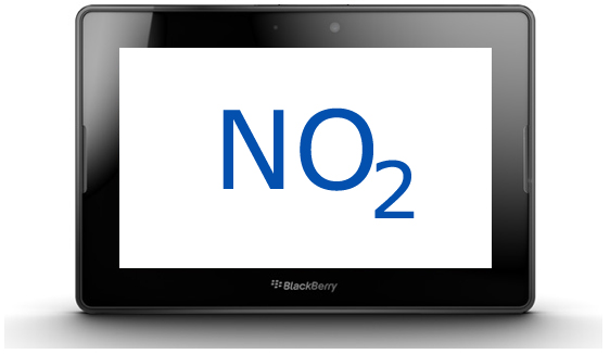 BlackBerry PlayBook O2