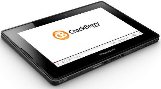 CrackBerry BlackBerry PlayBook Videos