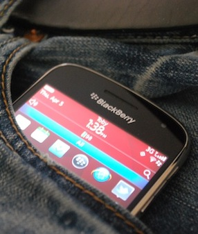 BlackBerry in Pocket