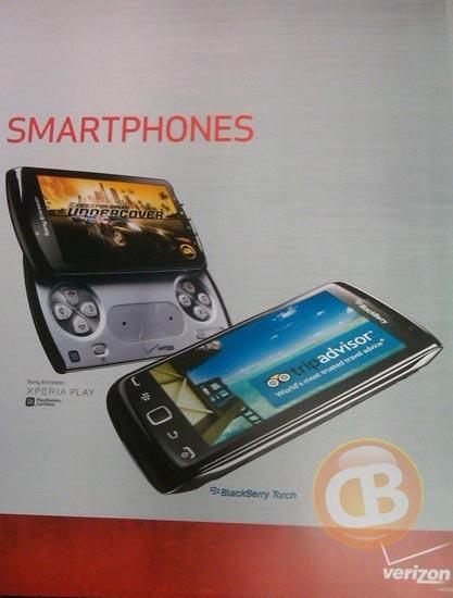 BlackBerry Torch 9850 Verizon