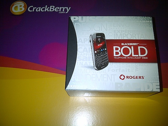 BlackBerry Bold 9780 Camera