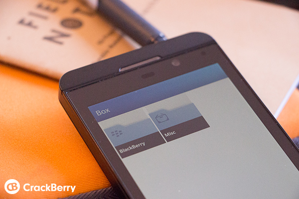 Box BlackBerry 10