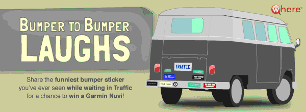 Vote for your Favorite Bumper Sticker!