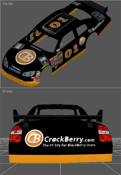 CrackBerry NASCAR 09
