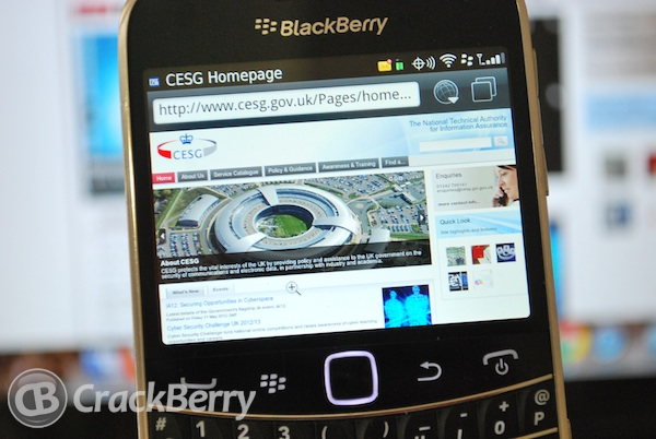 CESG BlackBerry Os 7