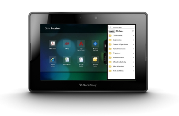 Citrix Receiver for BlackBerry PlayBook