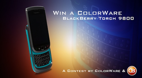 CrackBerry Colorware Torch Winner
