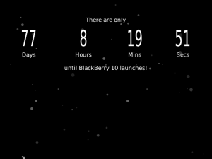 Countdown for BB10