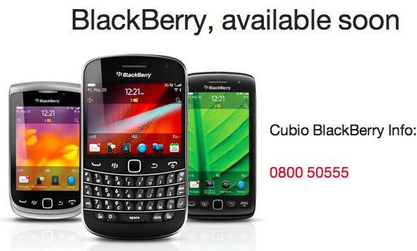 Cubio BlackBerry