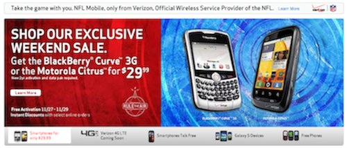 Verizon Mistakes 8330 for Curve 3G