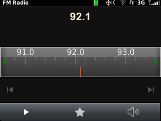 Curve 9310 FM Radio
