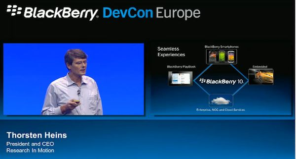 BlackBerry DevCon Europe Keynote