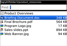 DocumentsToGo Lookup