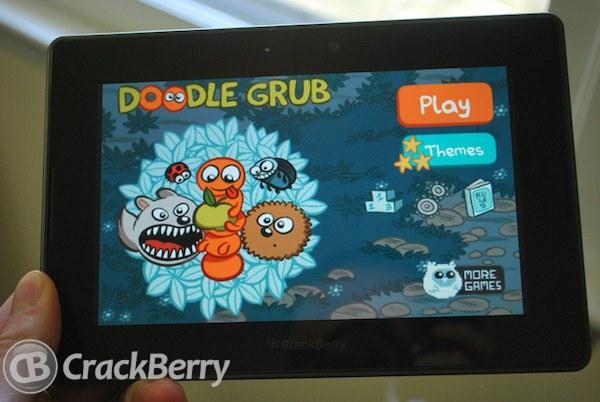 Doodle Grub BlackBerry PlayBook